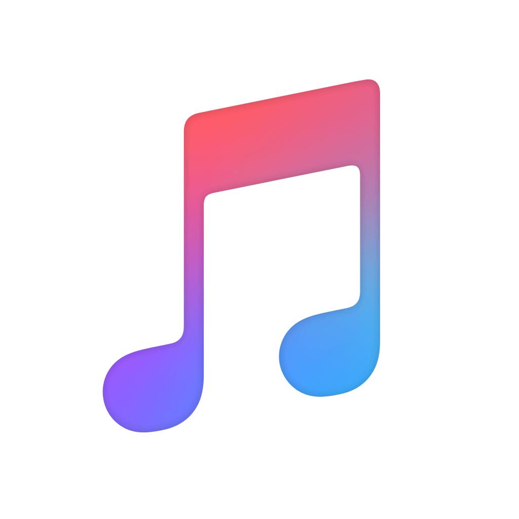 Apple Music app icon.
