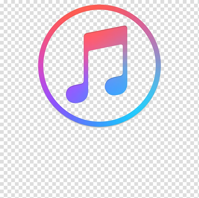 Round note logo music transparent background PNG clipart.