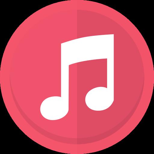 Apple, audio, itunes, itunes logo, itunes store, music, music note icon.