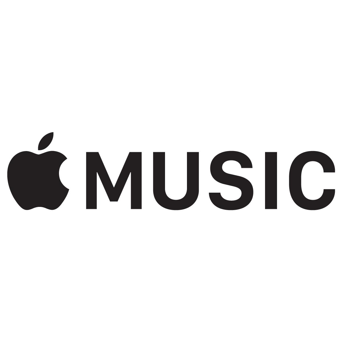 Apple Music Logo Vector.