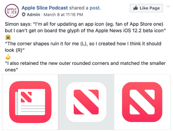 Apple News LogoDoes the new logo Work? · theMACcessories.