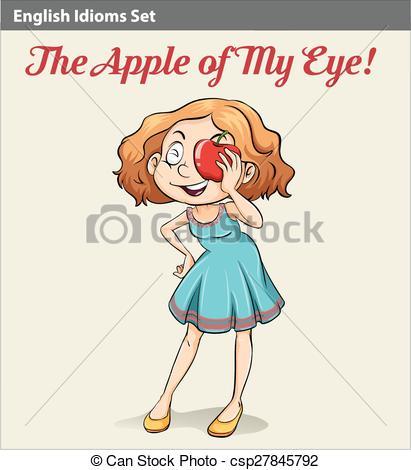 Apple of my eye Stock Illustrations. 22 Apple of my eye clip art.