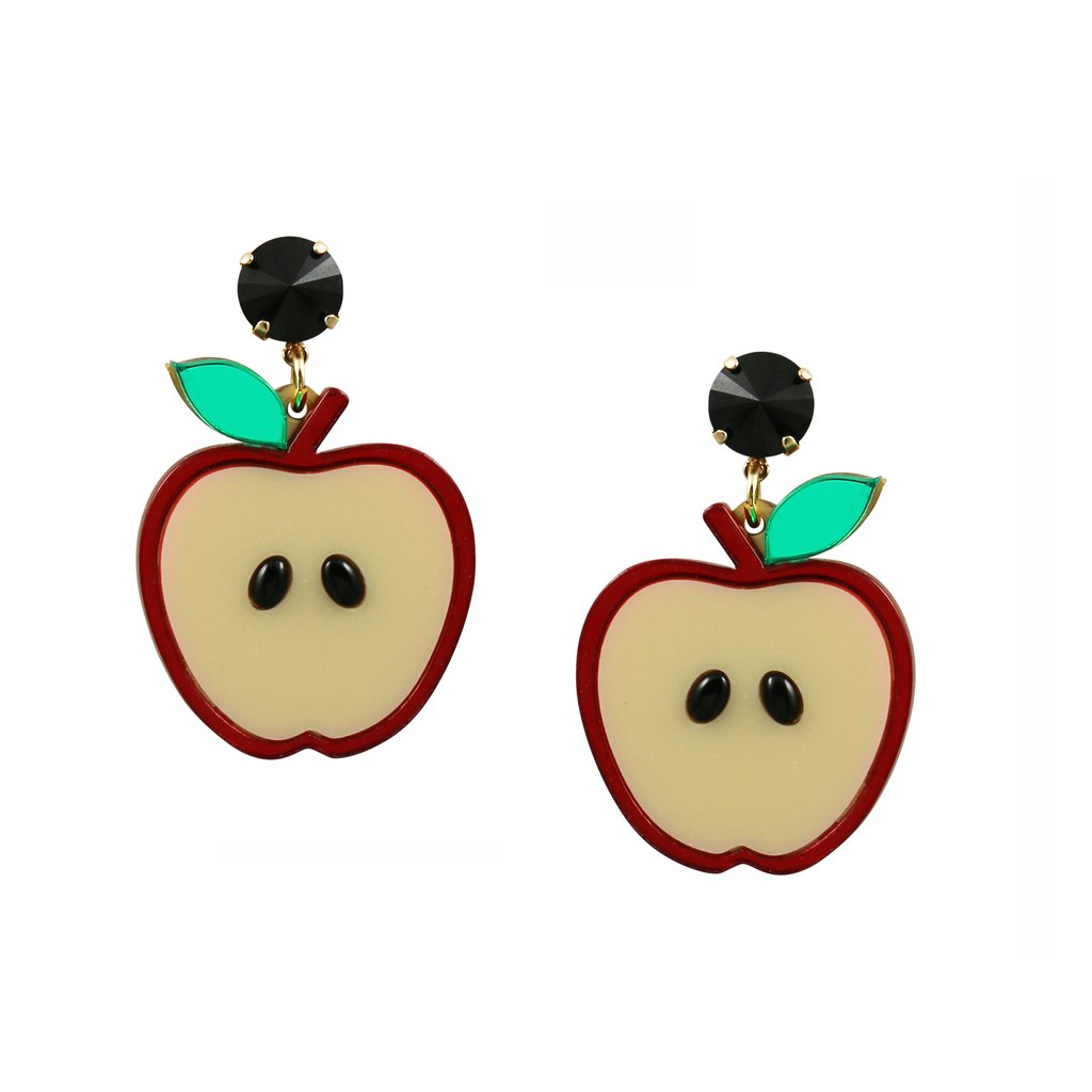 Apple of My Eye Earrings.