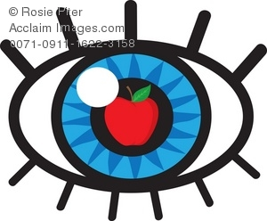 apple of my eye clipart & stock photography.