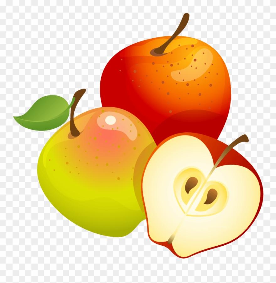 Clipart Apples Orange.