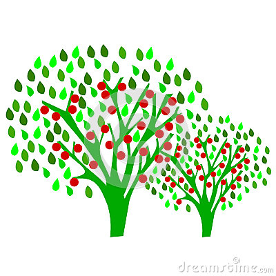 Apple Orchard Clipart.