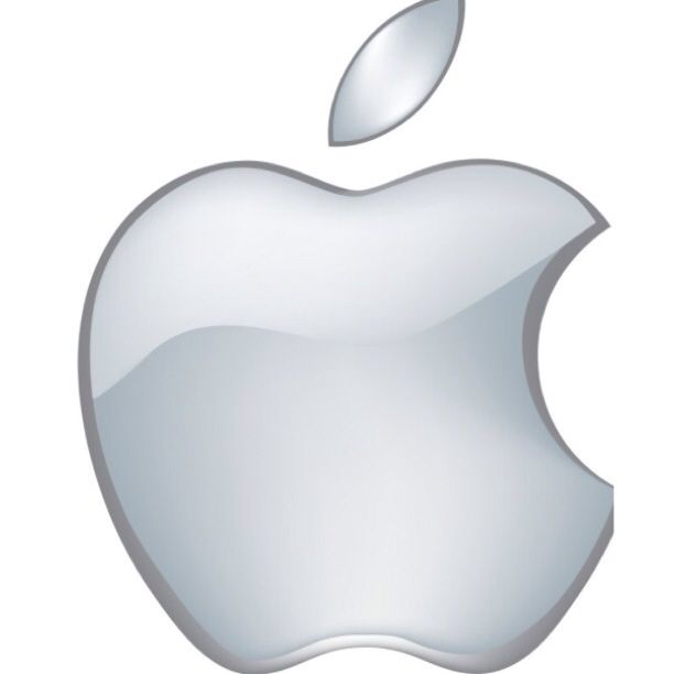 Apple logo original.