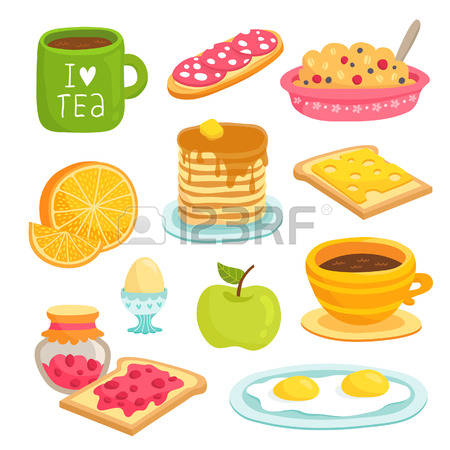 Pancakes With Jam Cliparts, Stock Vector And Royalty Free Pancakes.