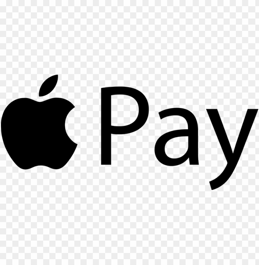 apple pay logo PNG image with transparent background.