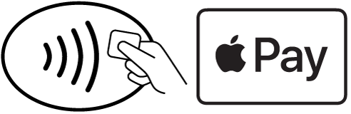 Make contactless payments using Apple Pay on iPhone.