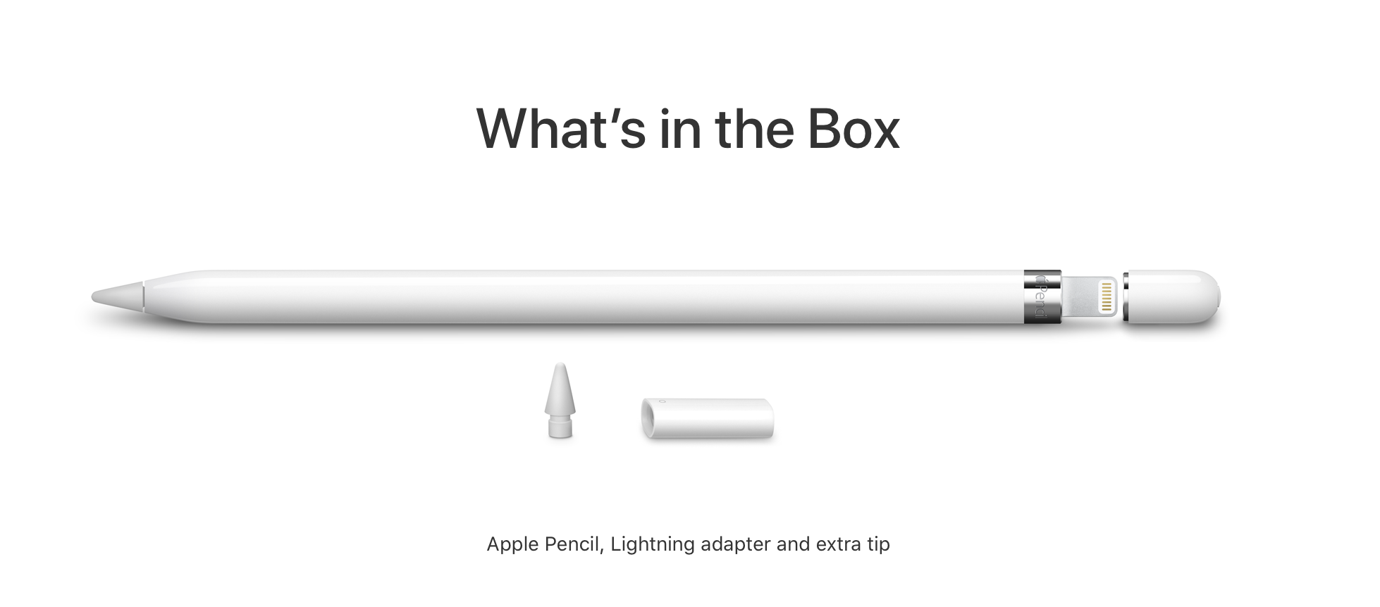 Apple Pencil.