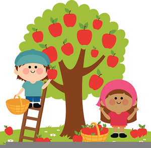 Free Apple Picking Clipart.