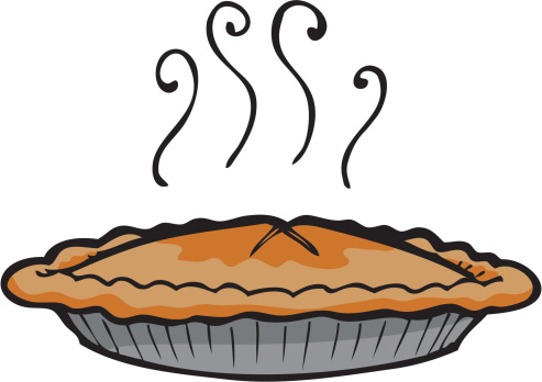 Apple pie in the refrigerator pictures clipart.