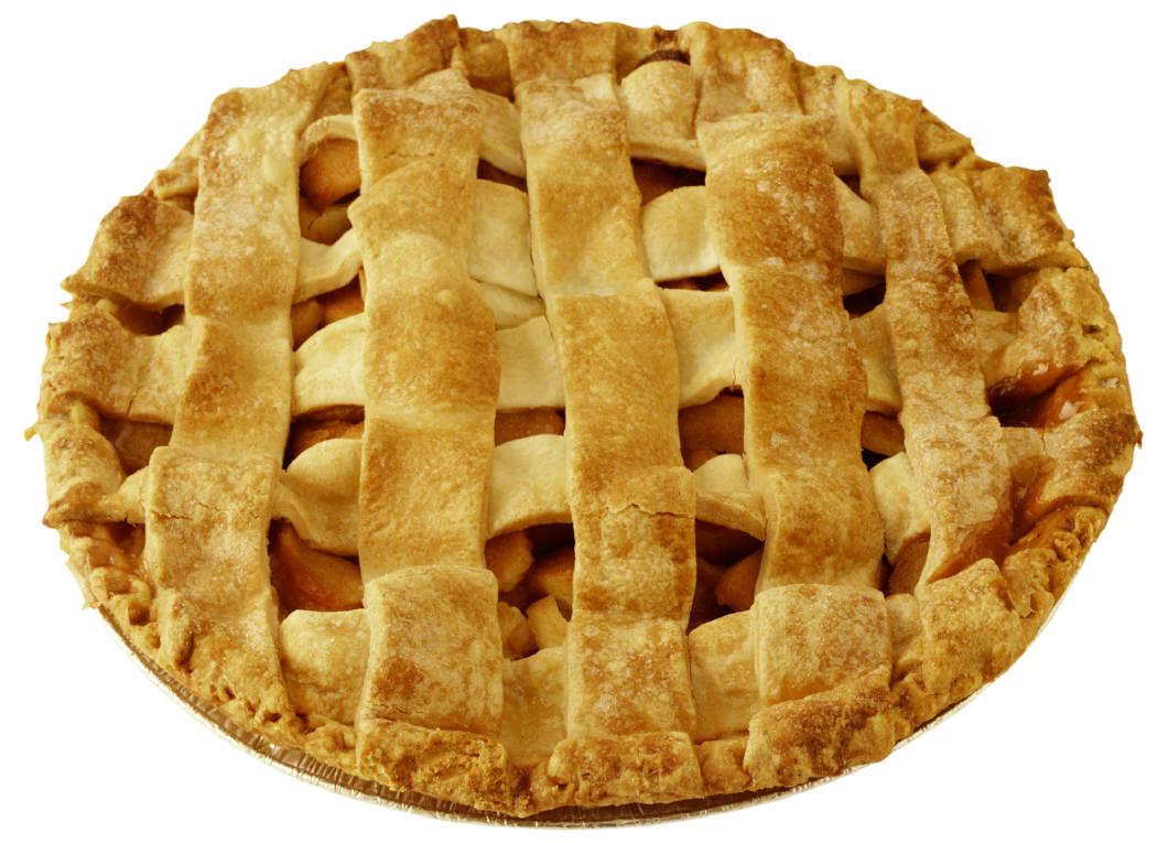 Cartoon Apple Pie.