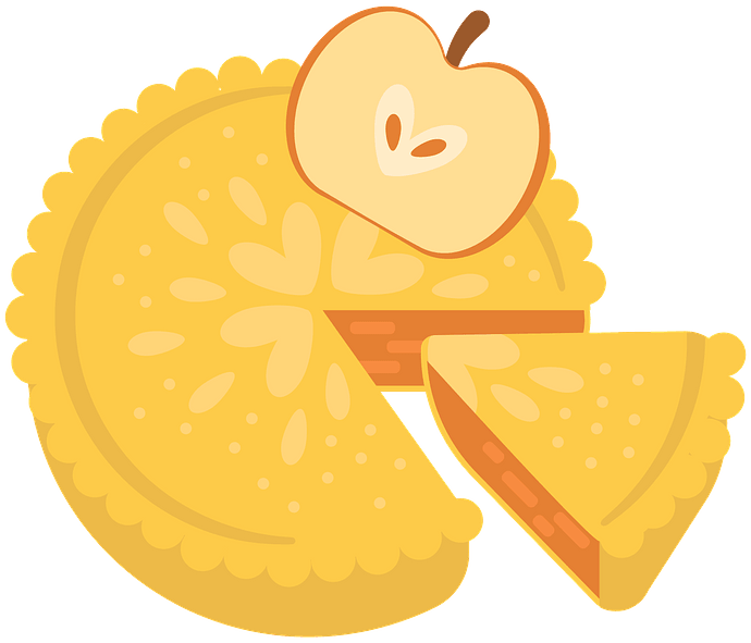 Apple pie clipart. Free download..