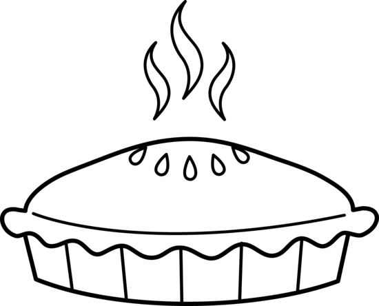 Free Apple Pie Clipart Black And White, Download Free Clip.
