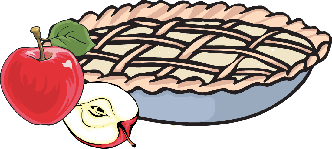 Apple Pies Clipart.