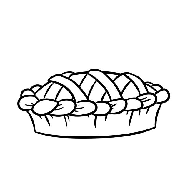 Best Apple Pie Illustrations, Royalty.