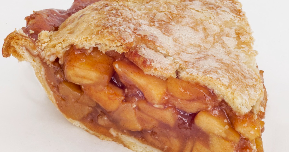 Northern Spy Apple Pie (Vegan).