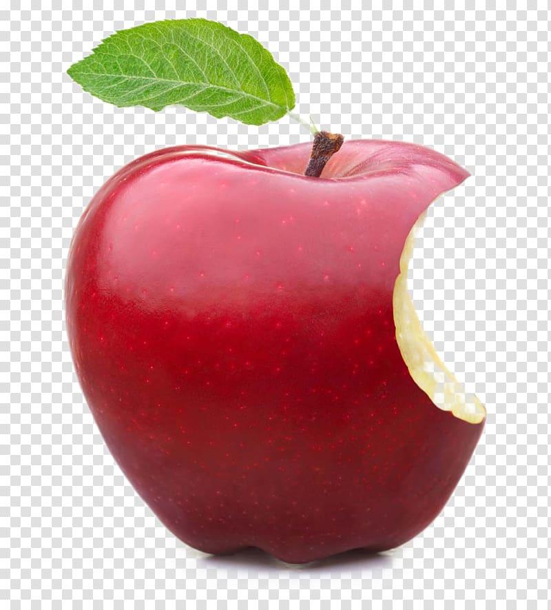 Apple fruit, Apple Crumble Fruit Food , Bite red apple transparent.