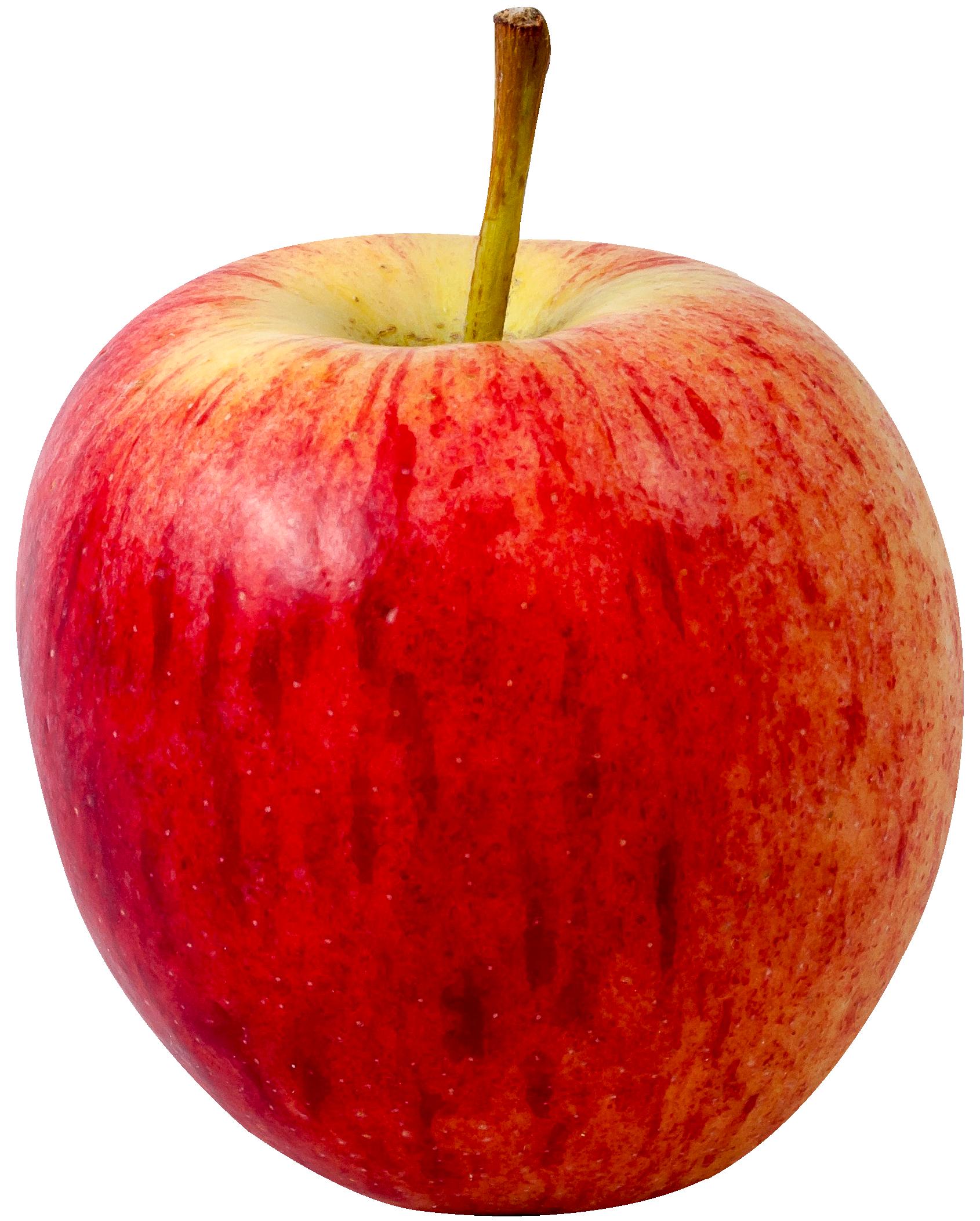 Apple Fruit PNG Transparent Image.