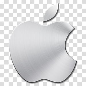 Flat Gray Icons, apple, black Apple logo transparent background PNG.