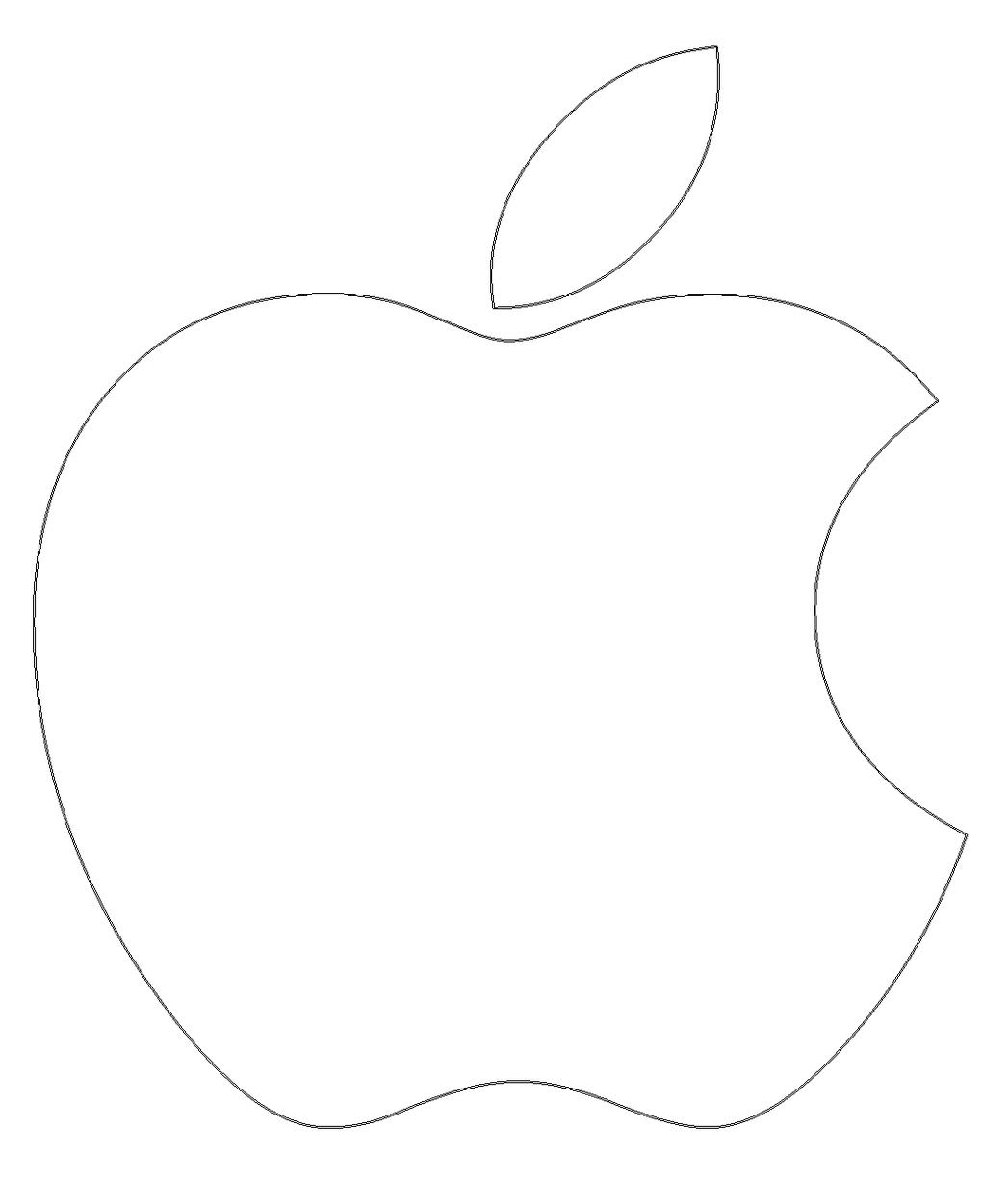 Apple Icon Png White #37843.