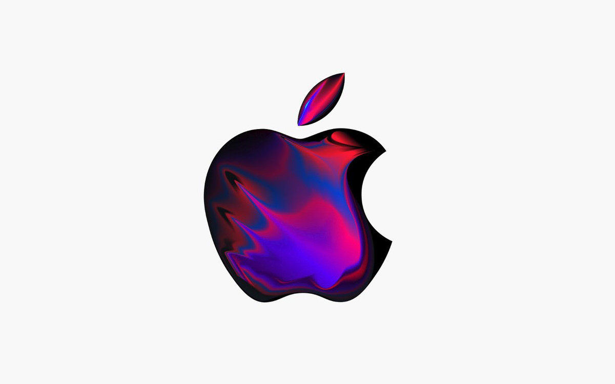 Check out these custom logos Apple made for its October 30th event.