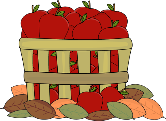 Autumn Apples Clip Art.