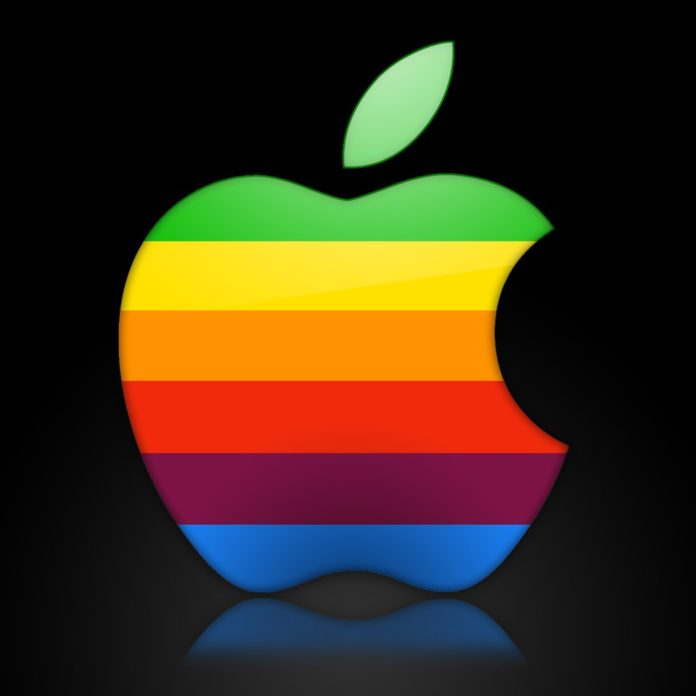 Apple trademarks again the rainbow apple logo.