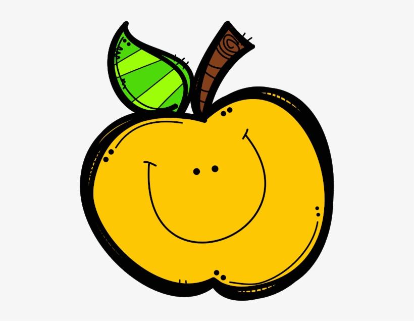School Clip Art Melonheadz Apple.
