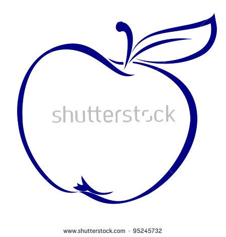 Apple Shape Stock Photos, Royalty.