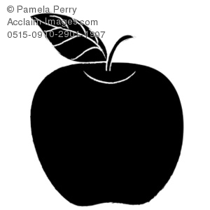 Apple Silhouette Royalty.