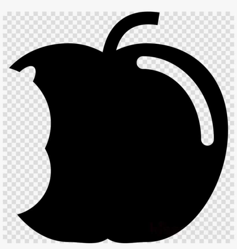 Bitten Apple Silhouette Png Clipart Apple.