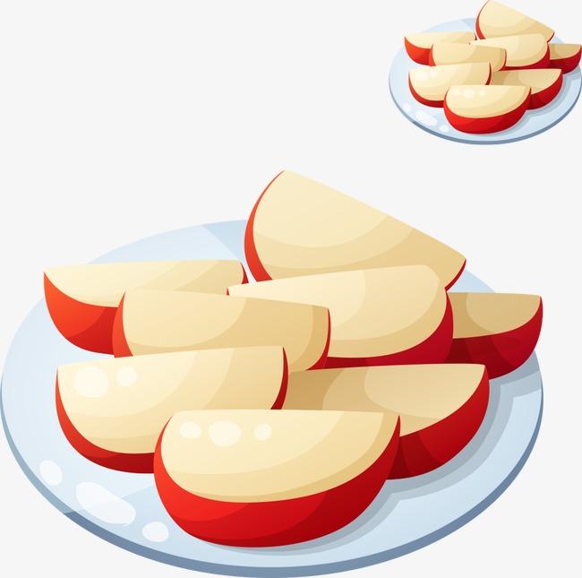 Apple Slice Clipart.