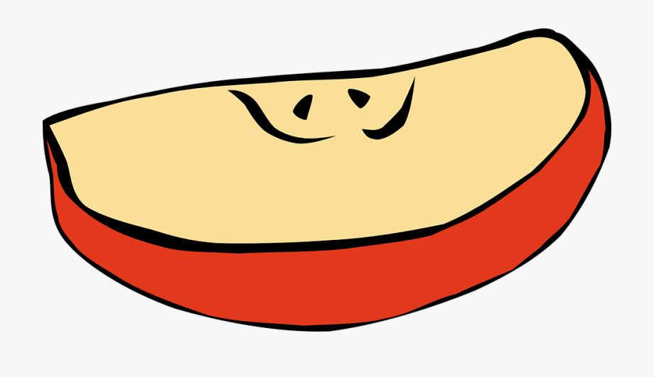 Apple Slice Clipart Png , Transparent Cartoon, Free Cliparts.