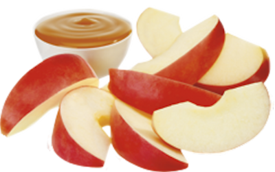 Apple Slices Clipart Mixed Apple Slices Isolated.