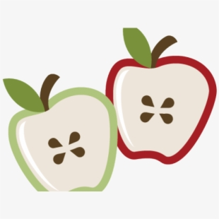 Free Sliced Apple Clipart Cliparts, Silhouettes, Cartoons Free.