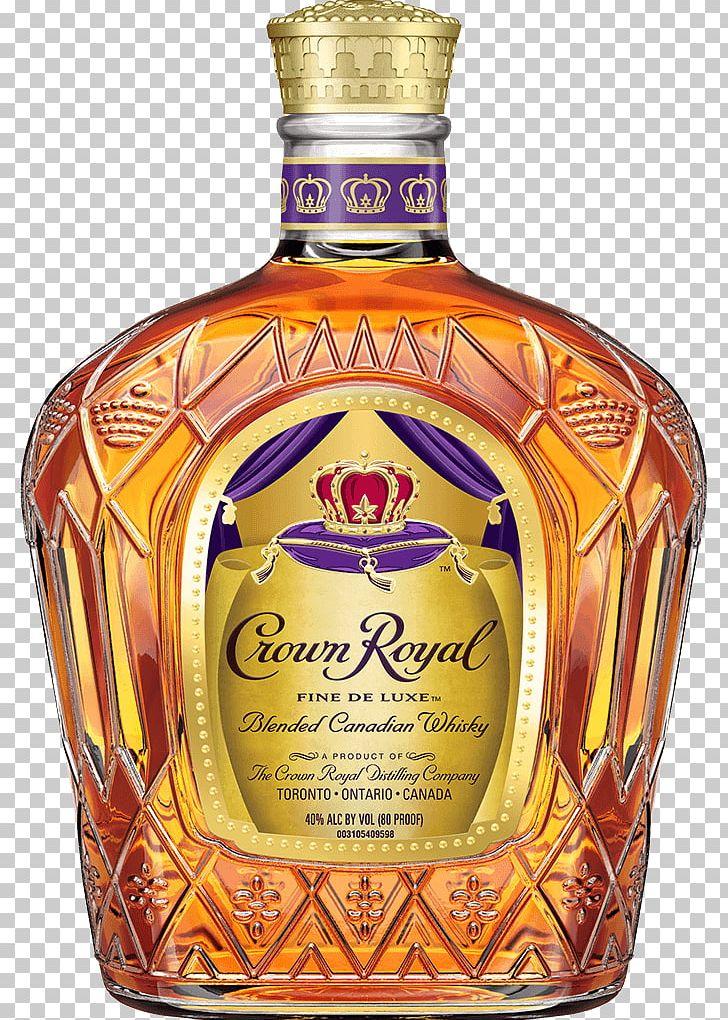 Crown Royal Blended Whiskey Caramel Apple Distilled Beverage.