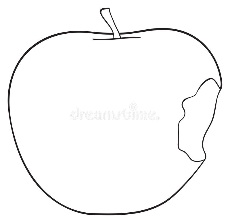 One Isolated Apple Stem Stock Illustrations.