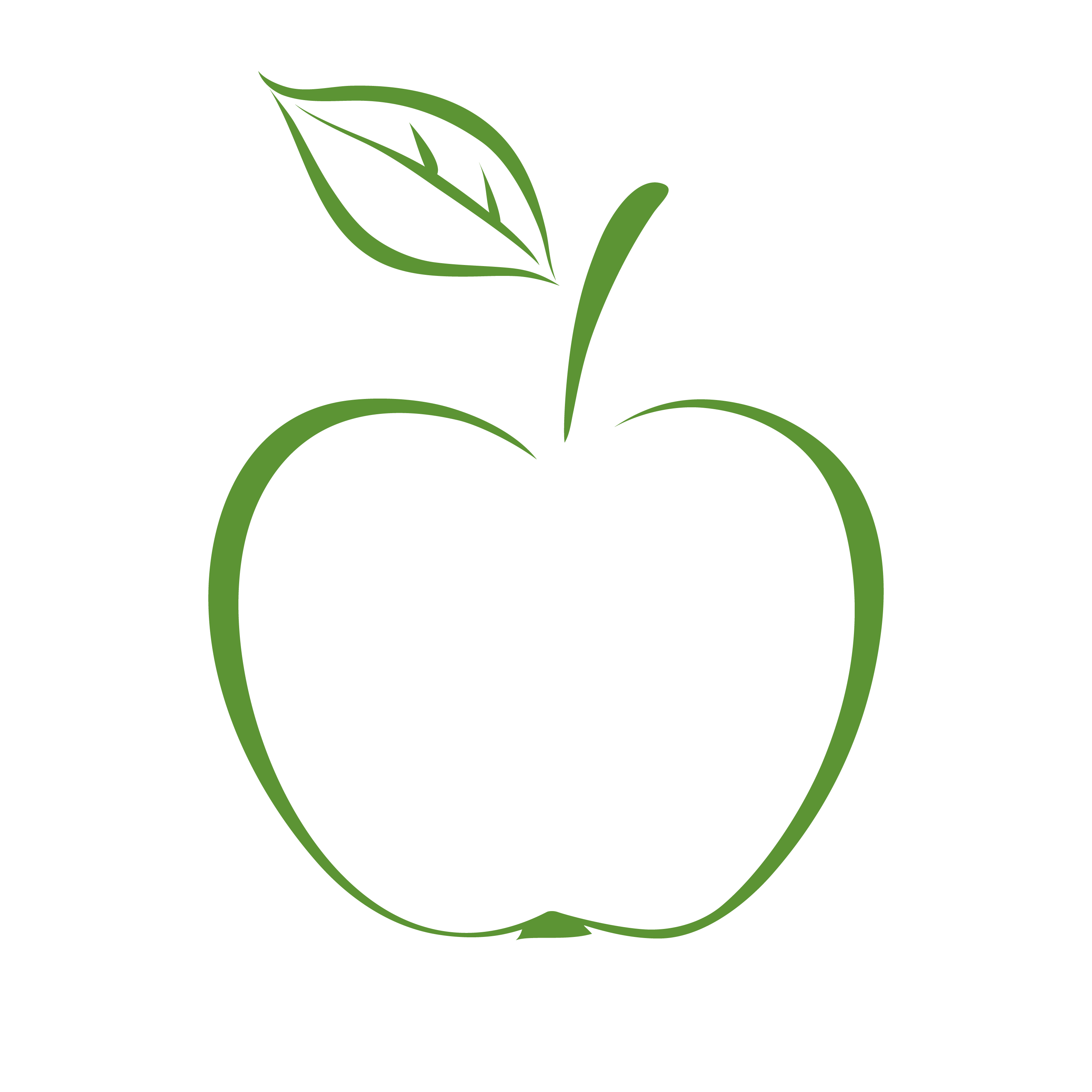 Apple With Stem Clipart Collection. Vibr #69924.