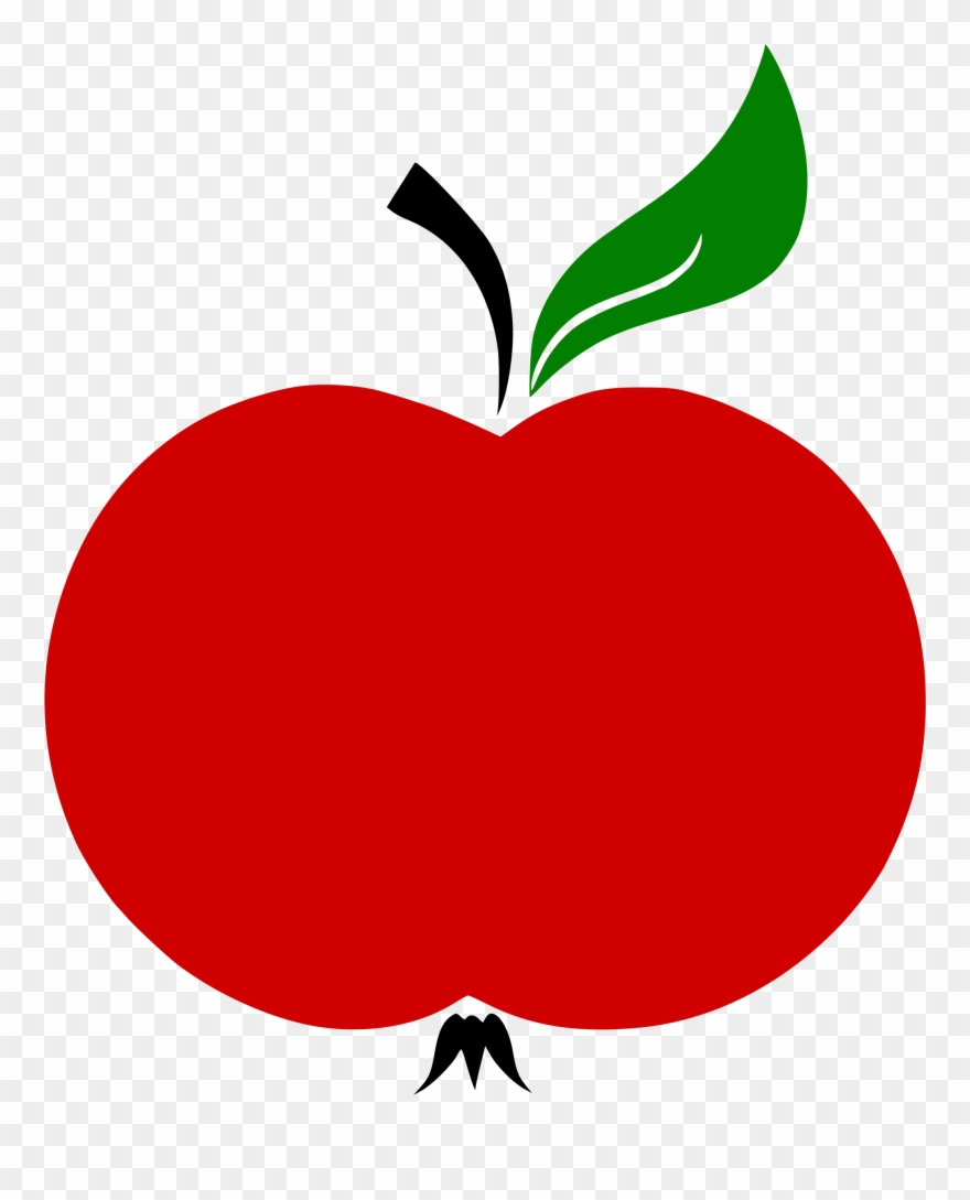 Apple Stem And Leaf Vector Clipart (#837857).