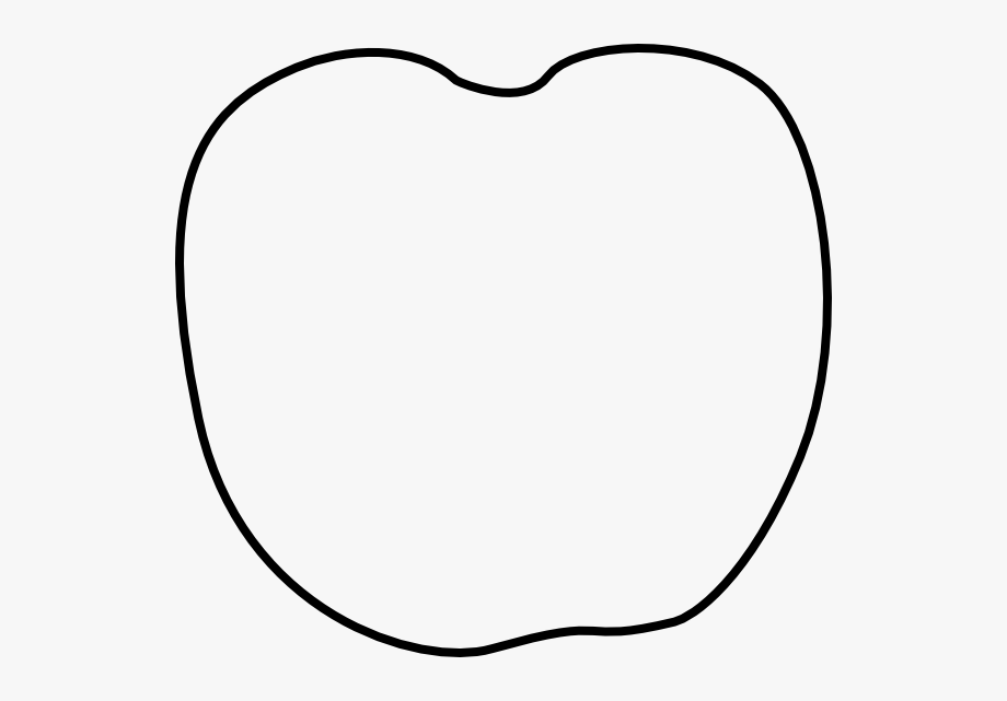 Apple Clipart Template.
