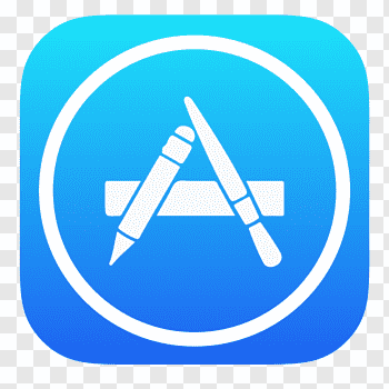 App Store logo, angle symbol sky, App Store free png.