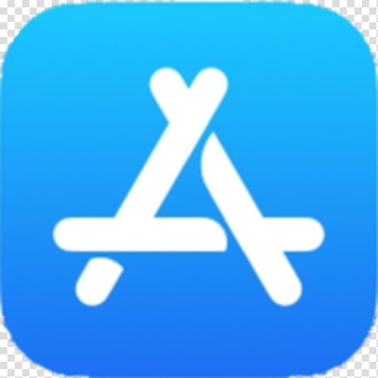 Apple App store logo, App store Apple, apps transparent.
