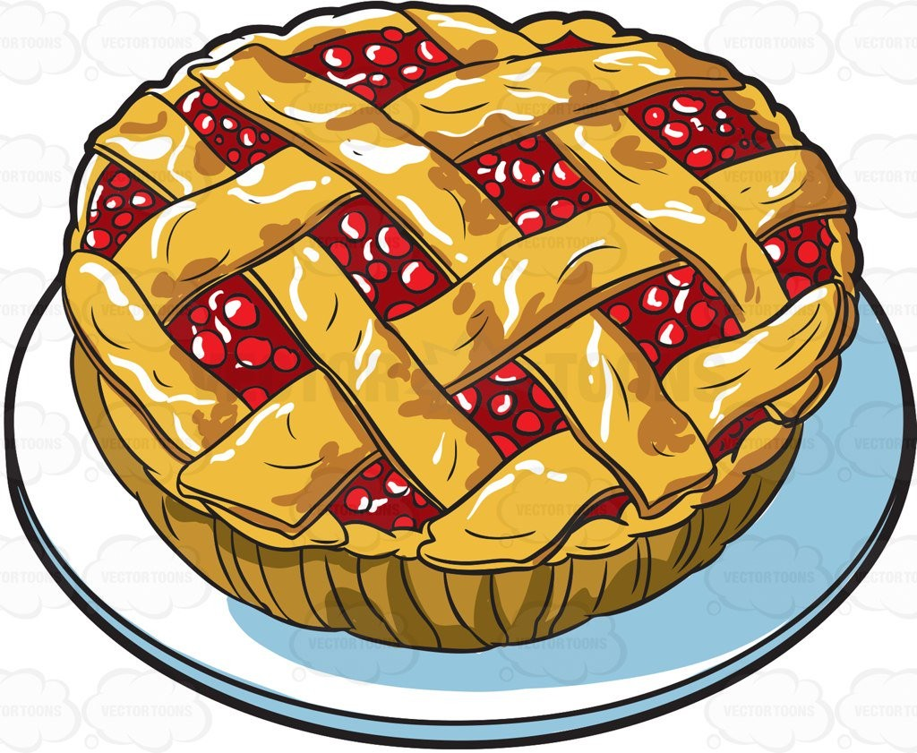 With Apple Tart Clipart Food Collection 8 006.