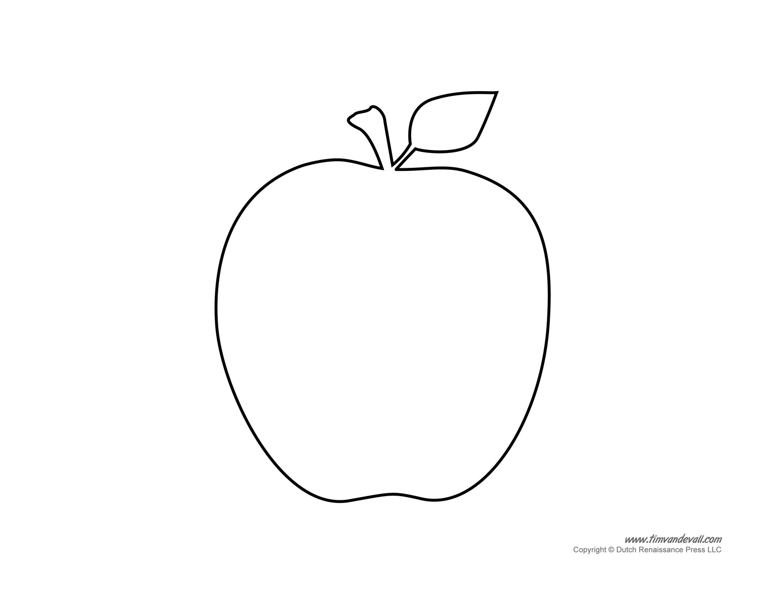 Free Apple Template, Download Free Clip Art, Free Clip Art.