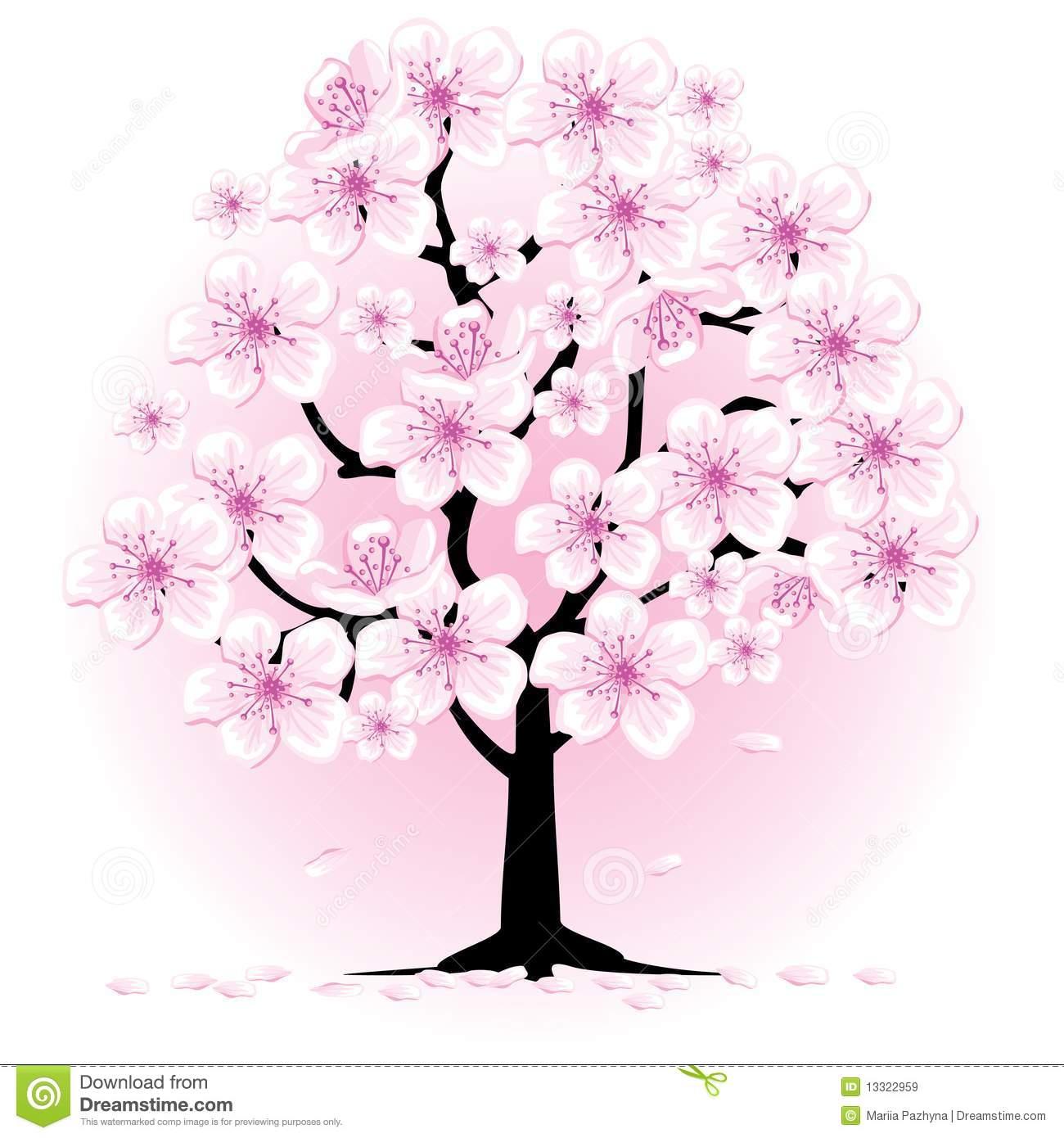 Blossom Tree Clipart.
