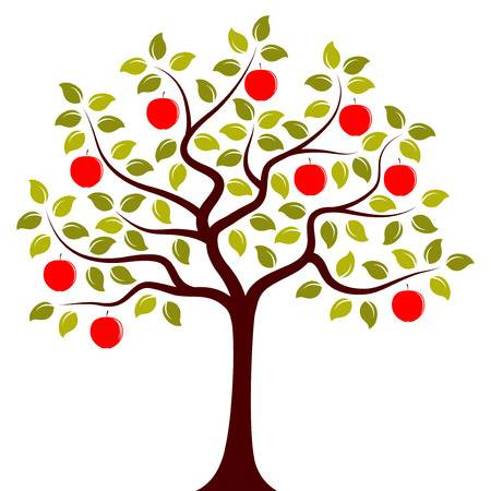 21,894 Apple Tree Stock Illustrations, Cliparts And Royalty Free.