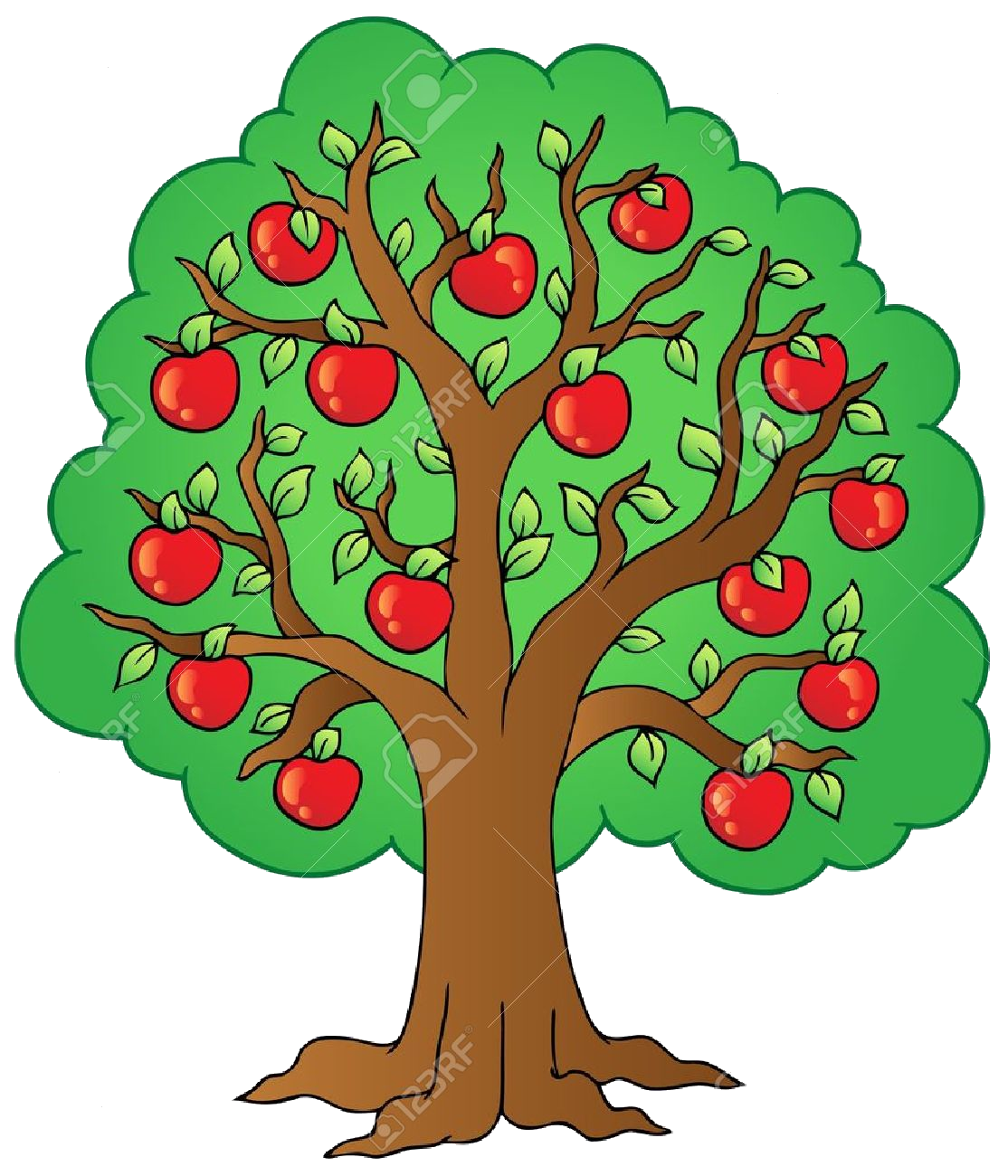 Apple Tree Clipart Transparent Png.